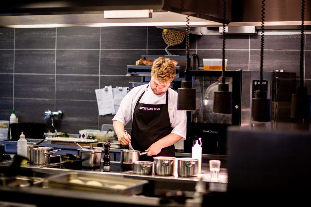 Chef Kitchen Range