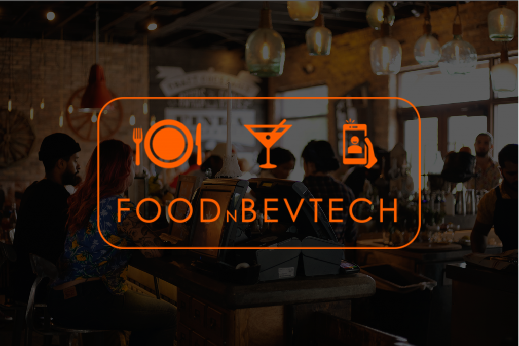 FOODnBEVTECH Logo on Image PNG