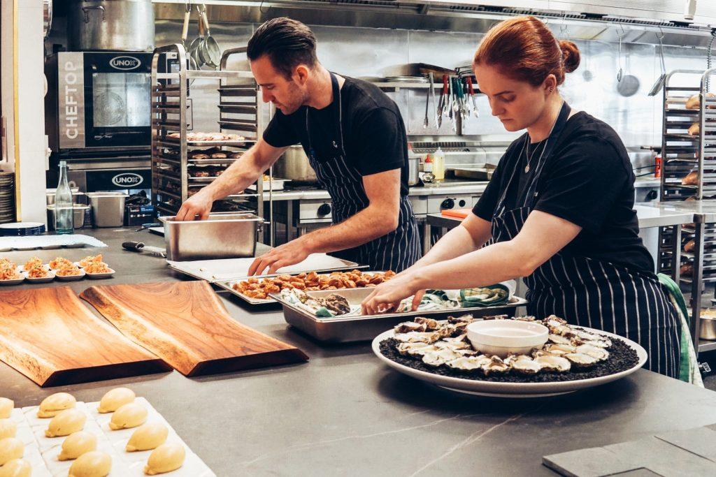 Kitchen Chef Counter